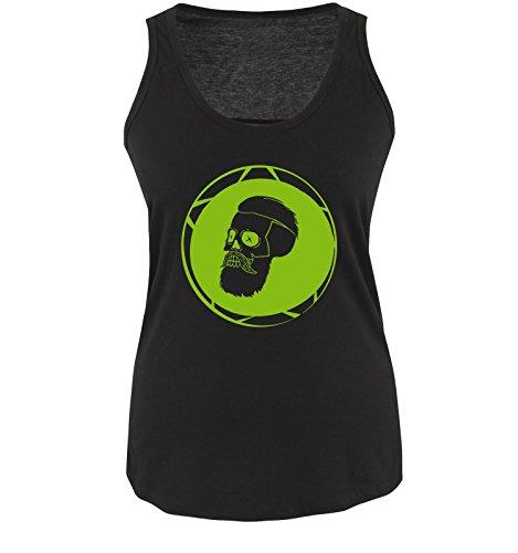 Comedy Shirts - Canotta - Senza maniche  -  donna Black / Green