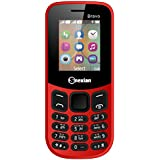 Snexian Bravo 130 Feature Mobile Phone With Dual SIM, 1.8 Inch, Open FM With Recording, 1000 Mah Battery, Bluetooth, Camera, BIS Certified & 1 Year Warranty (Red)