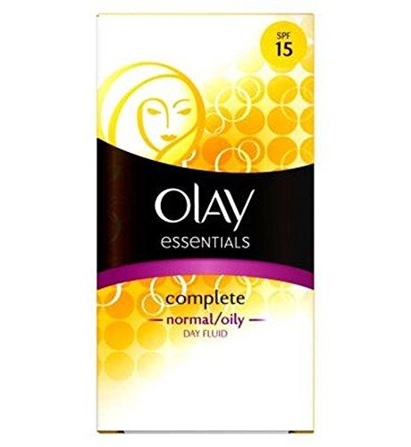 Olay Complet 3In1 Légère Jour Hydratante Fluide Spf15 Normale / 100Ml Huileuse - Lot De 2