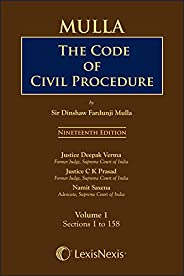 Mulla's the Code of Civil Procedure (Set of 3 Volumes)