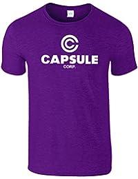 Capsule Corp Inspiriert Drachen Ball Gesellschaft T-Shirt