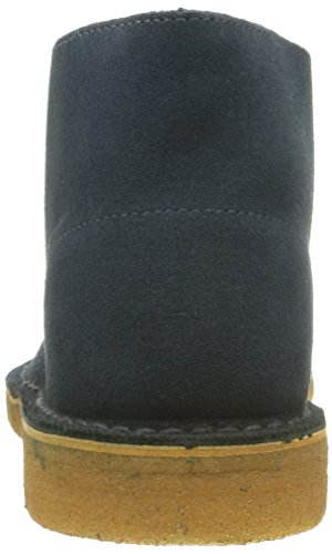 Clarks Originals Scarpe stringate Desert Boot, Uomo Blu (Midnight Suede)