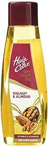 Hair & Care Dry Fruit Oil with Walnut & Almond, 500 ml (Non-Sticky Hair Oil)