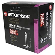 Hutchinson Protect Air Inner tube 28 inch, 700 x 28/35C black by HUTCHINSON