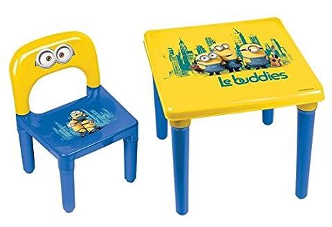 Minions Meine Kinder-Tisch und Stuhl/Offizieller Vorschulkinder Schreibtisch und Stuhl, Alter