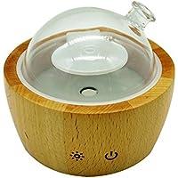 Warm Mist Ultraschall Bambus und Glas ätherisches Öl Aroma Vernebelung Diffusor Luftbefeuchter, Duft und Duft... preisvergleich bei billige-tabletten.eu