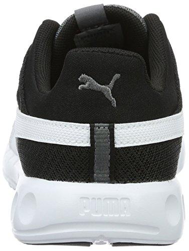 Puma Carson Runner 400 Mesh Jr, Sneakers Basses Mixte Enfant Gris (Steel Gray-puma White 03)