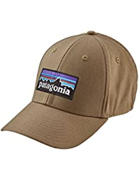 Patagonia 38098-ASHT-S - P-6 logo stretch fit hat   color: ash tan   talla: s