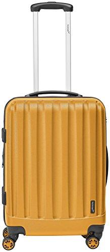 Packenger Velvet Koffer, Trolley, Hartschale 3er-Set in Orange, Größe M, L und XL - 4