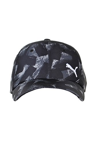 PUMA Erwachsene Graphic BB Cap Kappe, Black-Allover Print, Adult