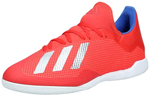 adidas Herren X 18.3 In Fußballschuhe, Mehrfarbig (Rojact/Plamet/Azufue 000), 43 1/3 EU