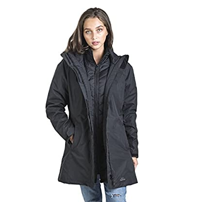 Trespass Alissa II Womens Waterproof 3 in 1 Jacket with Hood 6