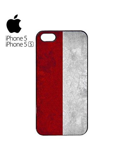Poland Flag Vintage Retro Polska Polskie Mobile Phone Case Cover iPhone 6 Plus + White Blanc
