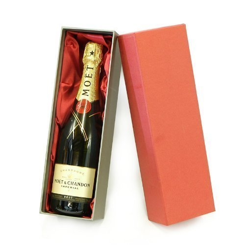 Moet et Chandon Champagne in un lusso Red Box