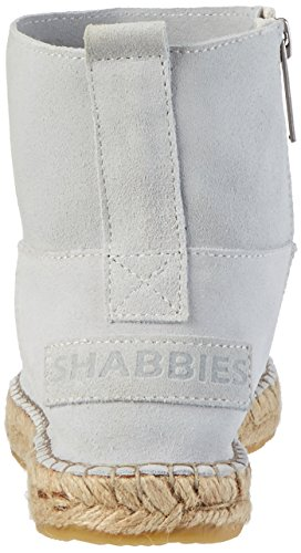 Shabbies Amsterdam Espandrilles Mit Reisverschluß, Espadrilles femme Weiß (Yogurt White)