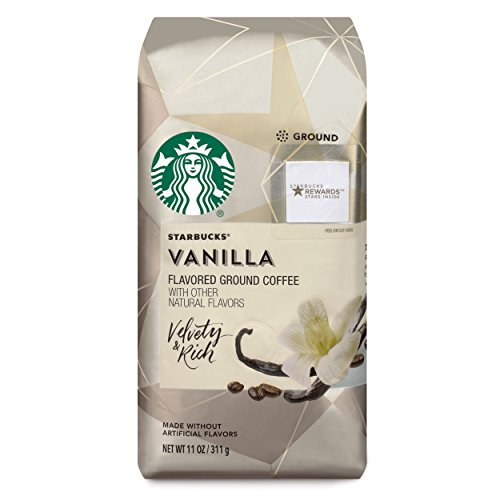 A photograph of Starbucks Vanilla