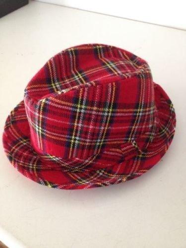 vivido e di grande stile nuova versione nuova alta qualità Best Dressed Cappello scozzese in feltro cappello scozzese scozzese Brucia  notte Bucht City Roller