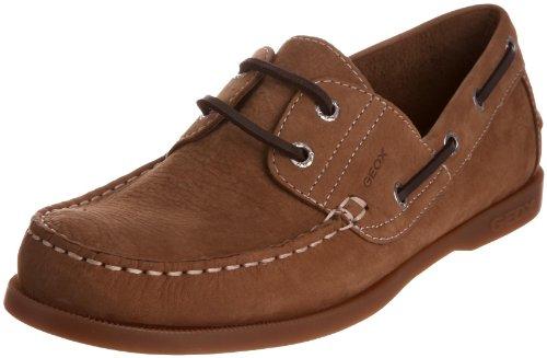 Geox , Chaussures bateau homme Marron Clair