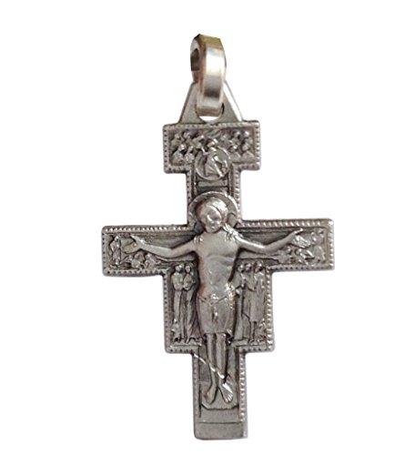 925 Sterling Silber Kruzifix von Saint Damiano