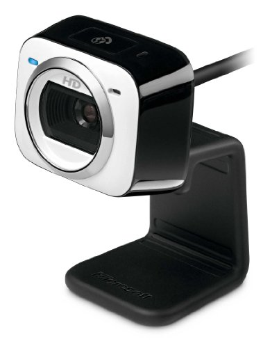 Microsoft HD-5001 1280 x 720pixels webcam - webcams (1280 x 720 pixels, 30 fps, Intel Dual-Core 1.6 GHz, 1024 MB, - CD-ROM - USB 2.0, Windows 7, Windows Vista, Windows XP (SP2))