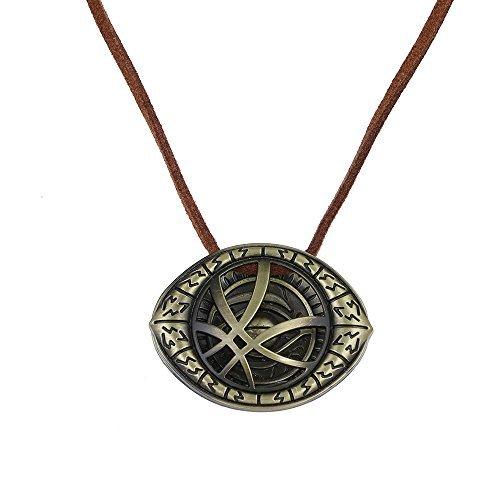 �rdige Halskette Auge von Agamotto Kostüm Stütze Unendlichkeit Stein Anhänger (nl005453) ()