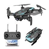 Gwendoll X12 4CH RC Drone Pliable Quadricoptère Altitude Tenir avec Caméra WiFi Live Video Une Clé Retour Mode sans Tête Flip 3D Vie Morte