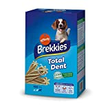 Brekkies Snacks para Perros Grandes Total Dent 4 x 270 g, Paquete de  2