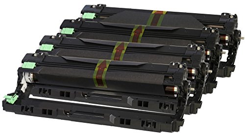 TONER EXPERTE® DR241CL 4x Bildtrommel kompatibel für Brother MFC-9140CDN MFC-9330CDW MFC-9340CDW DCP-9015CDW DCP-9020CDW HL-3140CW HL-3142CW HL-3150CDW HL-3152CDW HL-3170CDW HL-3172CDW (15.000 Seiten) (Laser 9340 Brother Drucker)