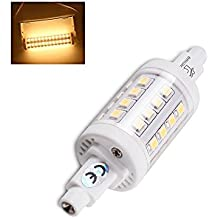 brightinwd R7S LED 5W 78mm regulable blanco cálido J-Type doble Ended tungsteno