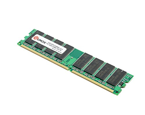QUMOX 1GB DDR DIMM (184 PIN) 400Mhz PC3200 DESKTOP MEMORY SPEICHER -