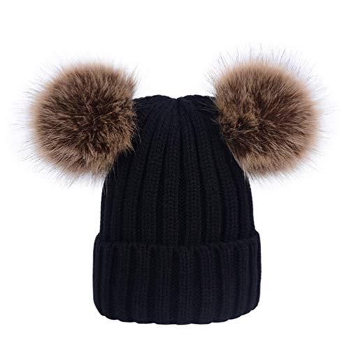 Lau's Sombreros invierno niñas - Gorro punto bebe