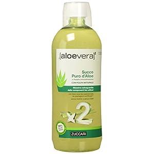 Zuccari Aloevera 2 Succo Puro d'Aloe, 1000 ml 12 spesavip