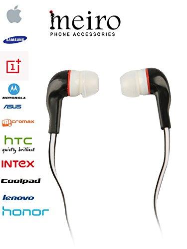 d52f67fe5be Samsung, Apple, Oppo, Vivo, Motorola, Micromax, HTC, Intex, Lenovo, Redmi,  Sony, Spice, Nokia BLACK In Ear Headphone 3.5mm Headset; for CALLING also  Price ...