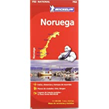 Mapa National Noruega (Mapas National Michelin)