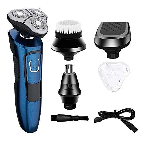 Máquina afeitar recargable USB hombre 4 1 Máquina