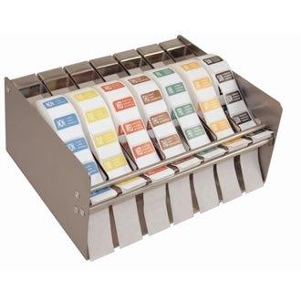 Farbcode Sticker Behaelter (Mdc-aufkleber)