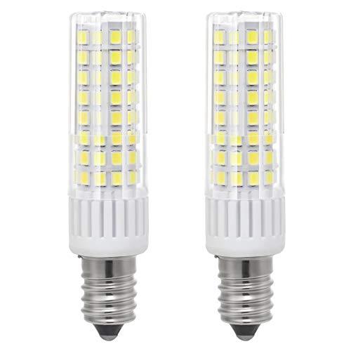 1819 Neueste E14 LED Birne Leuchtmittel Hohe Helligkeit 7.5W/8.5W Äquivalent zu 85W Watt Halogenlampe, 90V-265V Kühles Weiß 6000K
