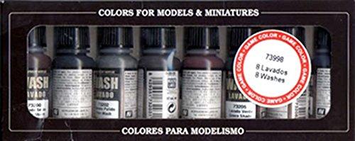 Preisvergleich Produktbild Vallejo Waschset 8x17ml