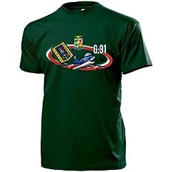 Copytec G91FRECCE Electric Olori Aeronautica Militare de Vuelo Staffel Aire Arma Italiano Italia 313º Gruppo addest ramento acrobatico Avión–Camiseta # 14150 Verde Small