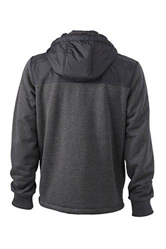Men's Jacket Teddy Lined im digatex-package Black/Black