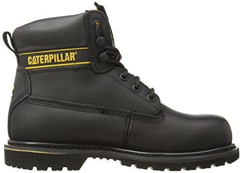 Caterpillar Holton St SB HRO SRC/Mens Black, Bottes de Sécurité Homme Noir