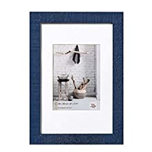 Walther Home HO824 A Wooden Frame, blue, 20x30 cm