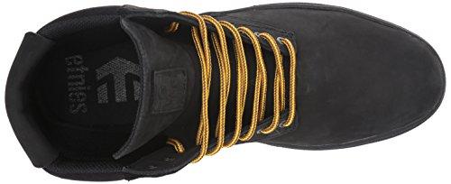 Etnies Jameson Htw, Chaussures de Skateboard Homme Noir (Black/black/gum)