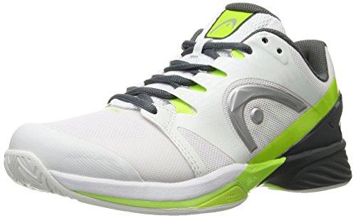 Head Nitro Pro Whny, Scarpe da Tennis Uomo Blanc (Blanc/Jaune )