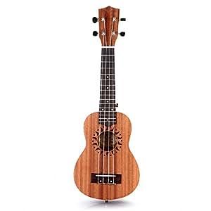 "FACILLA® 21"" Ukulélé Ukulele Soprano Standard Instruments Cordes Hawaii 15 Frettes"