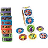 FX 200 Anti-Bullying Stickers and One Big Band Anti-Bullying Bracelet, Show Your Support