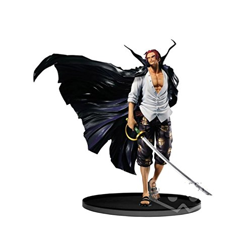 Banpresto 604714 scultures one piece bwfc op- shanks action figure, 16 cm