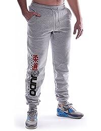 Dirty Ray Arts Martiaux Judo Division pantalon de sport homme avec èlastique à la fin SDJ1S