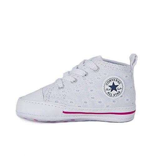 Converse - Converse Ctas First Star Hi Sneaker Kind - Weiss, 19 (Star Hi Schuhe Mädchen)