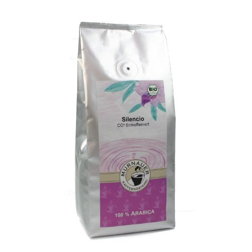 SILENCIO - Entkoffeinierter Kaffee - Arabica - CO²-Entkoffeinierung ( 250 Gramm - ganze Bohne)
